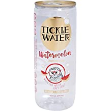 Tickle Water Naturally Flavored Sparkling Water, Watermelon, 8oz can,  (Pack of 12)
