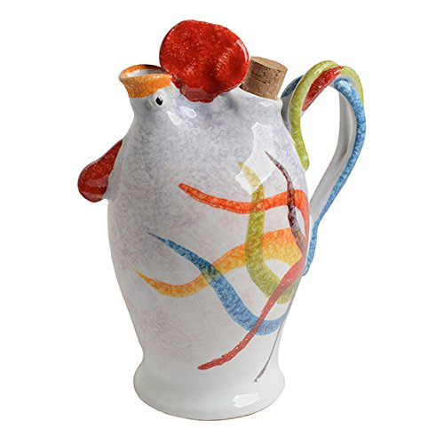 Oil Rooster (Rooster Large Olive Oil Cruet, Buongiorno! Italian Dinnerware Handmade in Italy)