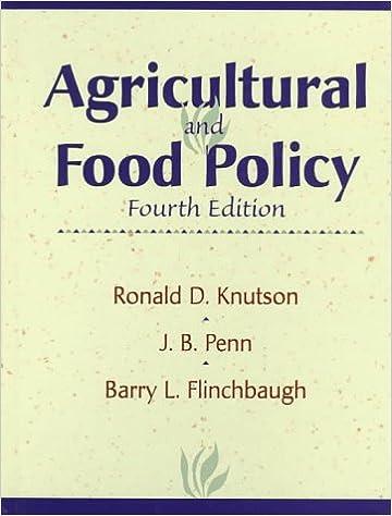 Descargar libros archivos pdf Agricultural and Food Policy (4th Edition) (Spanish Edition) PDF CHM ePub