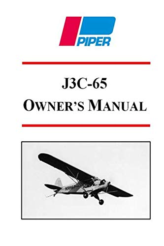 Piper J3C-65 Owner's Manual