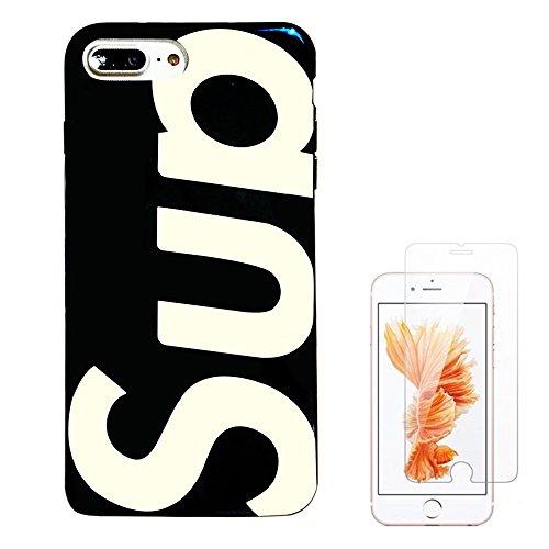 Supreme Sparkle - Liquid case for iPhone 6/6 plus/iPhone 7/7 plus/iPhone 8/8 Plus/iPhone x/10 Luxury Bling Glitter Sparkle Stars Transparent Plastic Case (Supreme Blue, iPhone X/iPhone10 (5.8 inch))