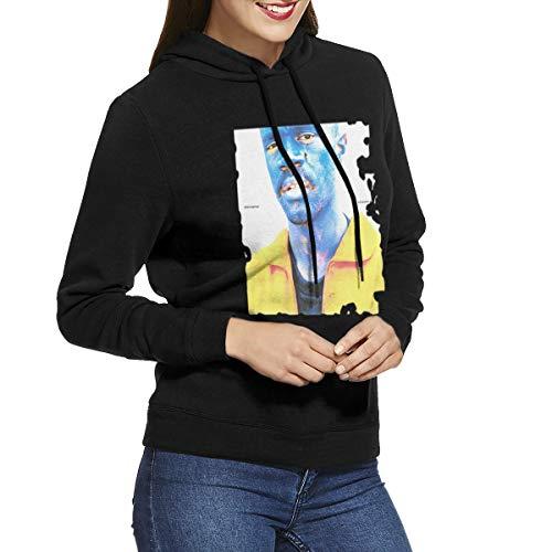Kangtians URAHARA BROCKHAMPTON Saturation III Women's Hooded Sweatshirt Black S -