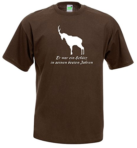 JENNERWEIN | T-Shirt | braun | Größe L