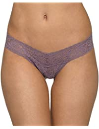 Women's Signature Lace Low-Rise Thong Panty