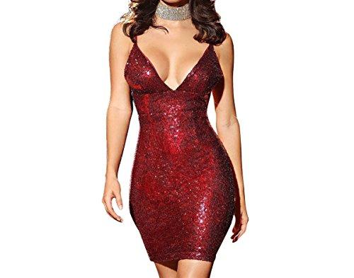 in mini dress - 8