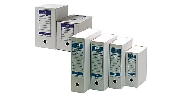 Definiclas Definclas - Contenedor de acceso superior, capacidad 5 archivadores: Amazon.es: Oficina y papelería