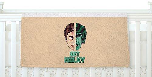 KESS InHouse Roberlan Get Hulky Avengers Fleece Baby Blanket 40 x 30 [並行輸入品]   B077Z5YS3B