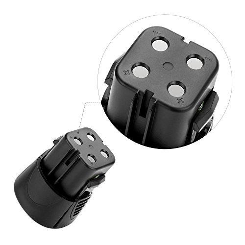 Odec Dremel 7300 Battery, Dremel 755-01 Battery 3000mAh 4.8V for 7300-N/8 MiniMite, 7300-PT Pet Nail Grooming Tool (2 Pack)