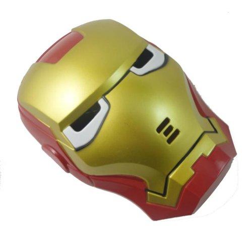 Childhood & Memories Iron Man Mask Toy with Luminous Lamp