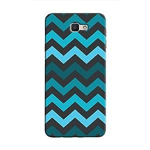 Cover It Up - Jagged Blue Galaxy J5 PrimeHard Case