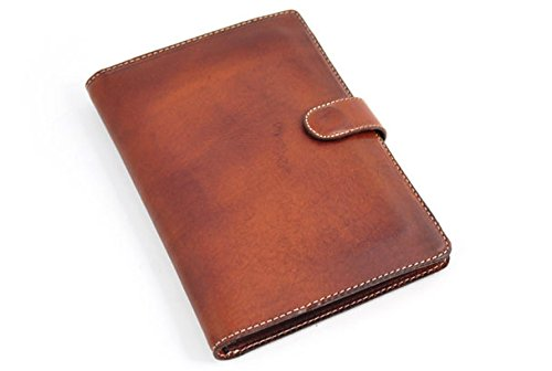 Padfolio Writing Journal Handmade in Italy (Terra Tan) by Borlino