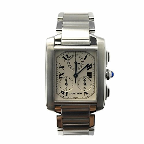Cartier Tank Francaise swiss-automatic mens Watch W51001Q3 (Certified Pre-owned)