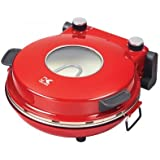 Kalorik PZM 43618 R Red High Heat Stone Pizza Oven