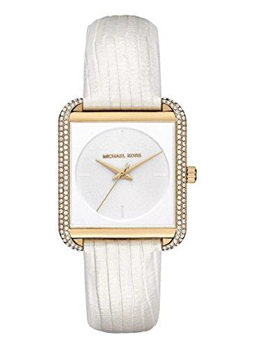 Michael Kors Women's Lake Gold Glitz White One - Michael Watch Gold Kors Pave