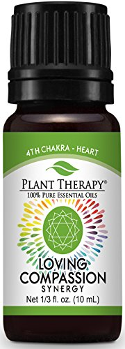 - Plant Therapy Chakra 4 Loving Compassion Synergy (Heart Chakra) 10 mL (1/3 oz) 100% Pure, Undiluted, Therapeutic Grade