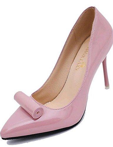 BGYHU GGX/Damen Schuhe Kunstleder Frühjahr/Sommer/Herbst Heels/spitz Toe Heels Hochzeit/Party & Abend pink-us5.5 / eu36 / uk3.5 / cn35