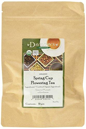 - Davidson's Spring Cup Loose Leaf Tea - 10 pieces