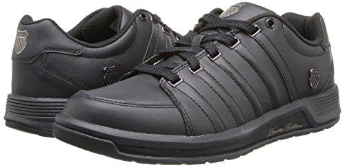 K-Swiss Berlo Sneaker,Black/Black,9 US