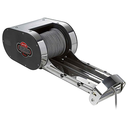Pontoon Windlass Anchor (Quick PT1000R, PT Series Pontoon Windlass w/Rope Roll, 1000Lb. 12V)