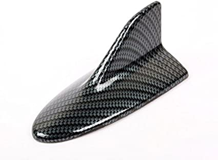 Universal Fit Carbon Fiber Look Mercedes-Benz W212 Style Shark Fin Static Aerial Dummy Antenna