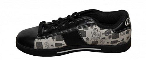 Osiris Skateboard Shoes Serve Black/ Beige Sneakers Shoes