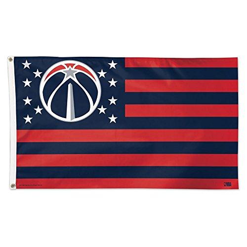 (NBA Washington Wizards 3'x5' Flag, One Size, Team Color)