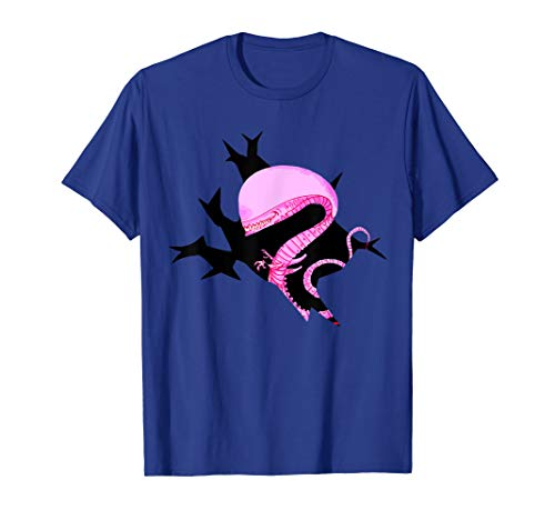 Bustin' Out Xenomorph T-Shirt- Easy Halloween Costume 2017