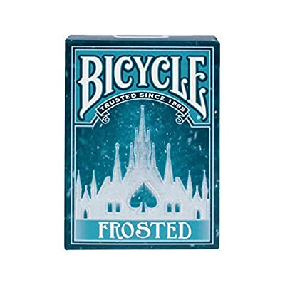 Bicycle Frosted Playing Card: Toys & Games