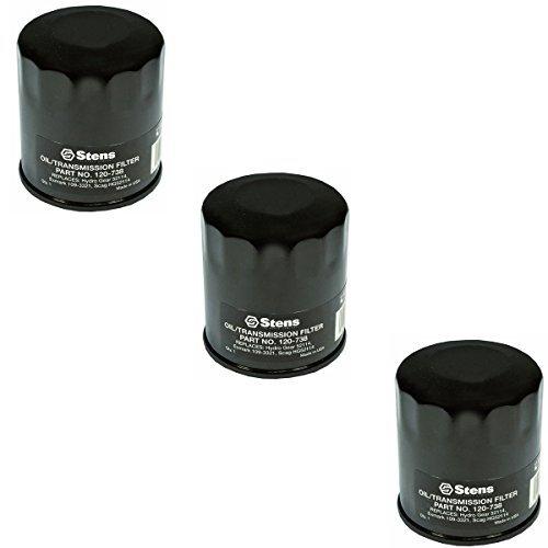 3 Transmission Oil Filters Hydro Gear Ariens Gravely Exmark Toro Ferris  Simplicity Mowers 109-3321 21545100