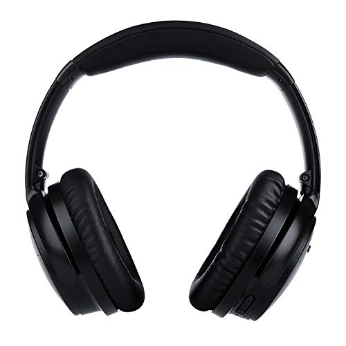 Over Ear Wireless Headphones with Premium Noise Cancelling Adjustable Bluetooth 30hr Audio by 18Tech