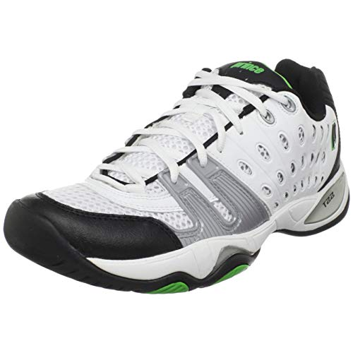 - Prince Men's 8P984149-T22 Tennis Shoe,White/Black/Green,6.5 M US