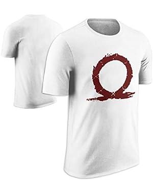 God of War Emblem Fan Black T Shirt