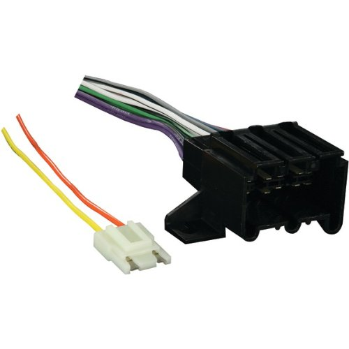 Gm Radio Wiring Harness (Metra 70-1677-1 Radio Wiring Harness for GM 73-90)