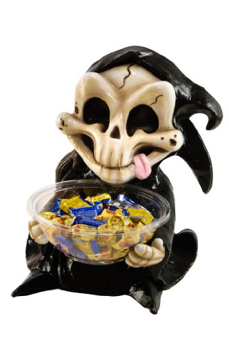 Halloween Candy Bowl Holder, Grim Reaper