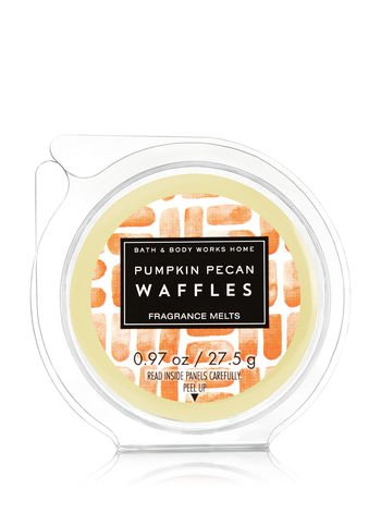 Bath & Body Works Wax Home Fragrance Melt Pumpkin Pecan Waffles (Harvest Maple Syrup)