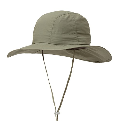 Surblue Crushable Ventilated Bucket Wide Brim Sombriolet Sun Hat Safari Hat -Sun Protective UPF 50+
