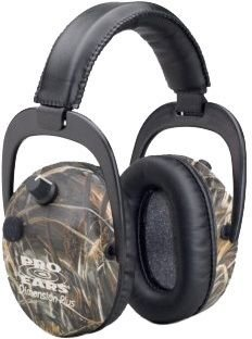 Pro Ears - Stalker Gold - Electronic Hearing Protection and Amplification Earmuffs - NRR 25 - Realtree APG by Pro Ears