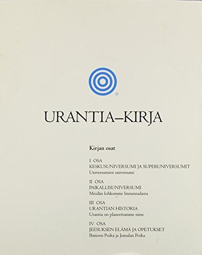 Urantia-kirja (English and Finnish Edition) by Brand: Urantia Foundation