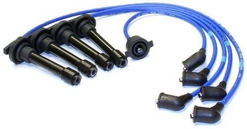 NGK (9578) HE62 Premium Spark Plug Wire Set (1992 Honda Accord Spark Plugs)