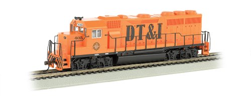 Bachmann Industries EMD GP40 DCC Equipped Locomotive DT&I...