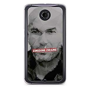 Zidane Nexus 6 Transparent Edge Case - Heroes Collection