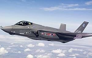 Military Lockheed Martin F-35 Lightning II - 24X36 Metal Aluminum Wall Art