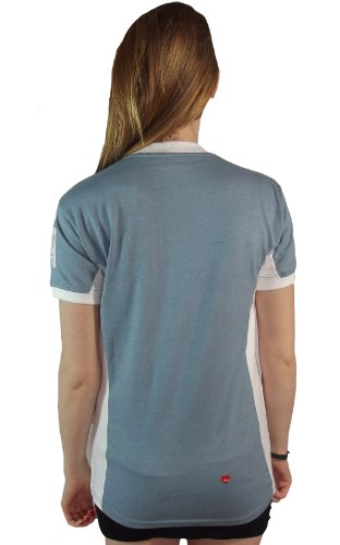 Mesdames Edimbourg n ° 9 T-shirt Baby Blue Marl