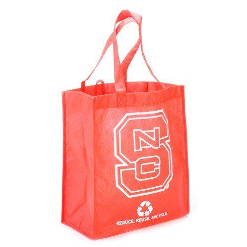 UPC 681329822759, NCAA North Carolina State Wolfpack Red Reusable Tote Bag