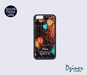 iPhone 5 5s Case - Rain Drop Turquoise Design iPhone Cover by icecream design