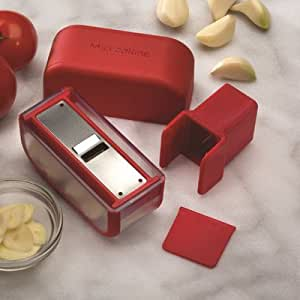Garlic Slicer Color: Red