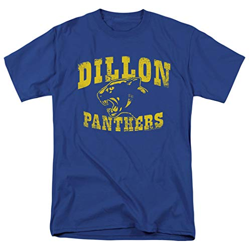 Friday Night Lights Dillon Panthers NBC T Shirt & Exclusive Stickers (XX-Large) ()