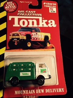 Dew Collection (Tonka Die Cast Collection,mountain Dew Delivery)