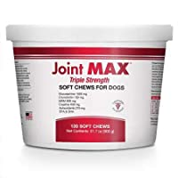 Joint MAX Triple Strength Soft Chews Glucosamine Chondroitin with MSM for Dogs Hip...