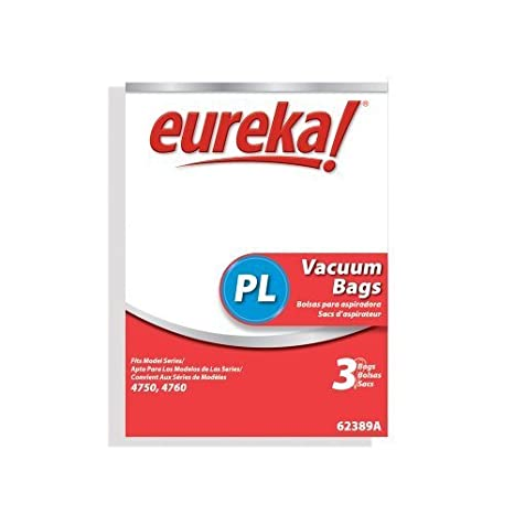 Genuine Eureka PL Vacuum Bag 62389A - 3 bags